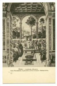 Cattedrale (Libreria), Enea Piccolomini Si Presenta Al Re Di Scozia, Siena (T...