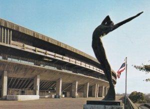 National Stadium Promenade And It's Bronze Statue, 2007