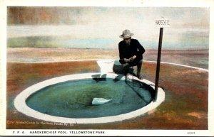 Yellowstone National Park Handkerchief Pool 1924 Curteich