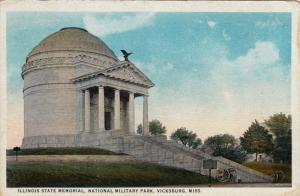 Illinois State Memorial, National Military Park, VICKSBURG, Mississippi, PU-1924