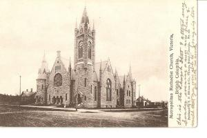 Postal 036135 : Metropolitan Methodist Church Victoria. British Columbia