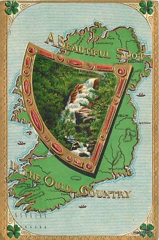 1911 A Beautiful Spot in the Old Country IRELAND 1604 Postcard