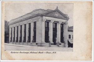 Exchange National Bank, Olean NY