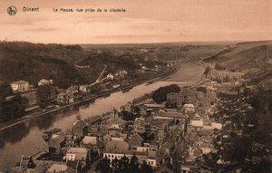 La Meuse vue prise de la citadelle,Dinant,Belgium BIN