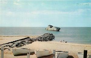 NJ, Cape May, New Jersey, Concrete Ship, Atlantis, Dexter Press No. 23741-B