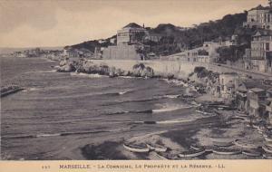 France Marseilles La Corniche Le Prophete et la Reserve