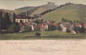 Gruss aus Durbach , Germany , PU-1897
