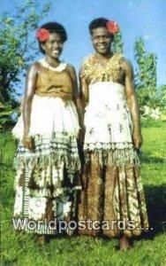 Traditional Dress Fiji, Fijian Unused