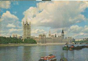 United Kingdom, London, The Houses of Parliament, 1960 used