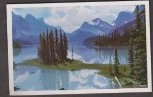 Maligne Lake Jasper, Alberta 1950s Used