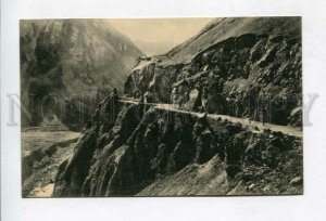 426626 CAUCASUS Georgian military road Devil's Gate in Darial Vintage postcard