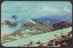 Above the Timberline,Pikes Peak,CO Postcard BIN