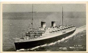 Italian Line - SS Rex