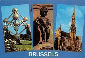 Belgium Brugge Atomium Grand Place Grote Markt Grand Square Manneken Pis
