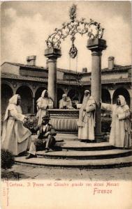 CPA FIRENZE Certosa, Il Pozzo nel Chiostro . ITALY (492834)