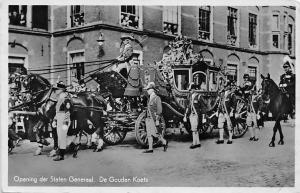 Opening der Staten Generaal, De Gouden Koets, carriage parade 1936