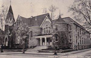 YORK, Nebraska, PU-1912; First Methodist Church