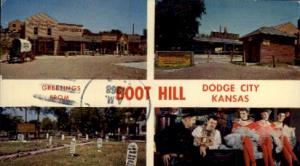 Greetings From Boot Hill Dodge City KS 1968