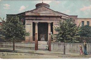 Virginia Richmond Monumental Church
