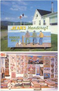 Jeans Handicraft Petit Etang, Inverness City Nova Scotia, NS, Canada, Chrome