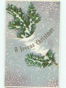 Divided-Back CHRISTMAS SCENE Great Postcard W9778