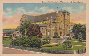 Massachusetts Lowell Immaculate Concepton Church 1951
