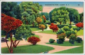 Washington Park, Albany NY