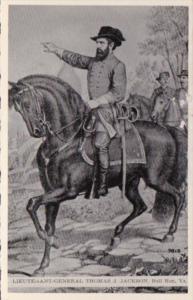 Lieutenant General Thomas J Jackson At Bull Run Virginia Dexter Press