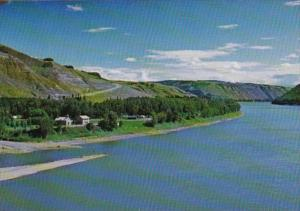 Canada Alberta Dunvegan Mission Along The Peace River