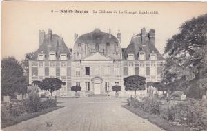 Le Chateau De La Grange, Facade Midi, SAINT-BOUIZE (Cher), France, 1900-1910s