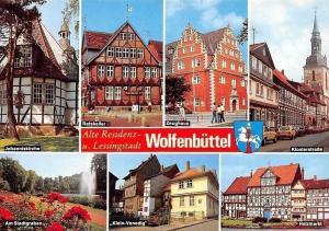 Wolfenbuettel Johanniskirhce, Ratskeller, Zeughaus, Holzmarkt, Stadtgraben