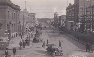 RP; SASKATOON , Saskatchewan, Canada , 00-10s ; 21st Street; B.P. SKEWIS Photo
