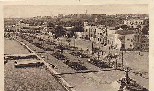 RODI, Aerial View of Waterside Park, Foggia, Puglia, Italy, 10-20s