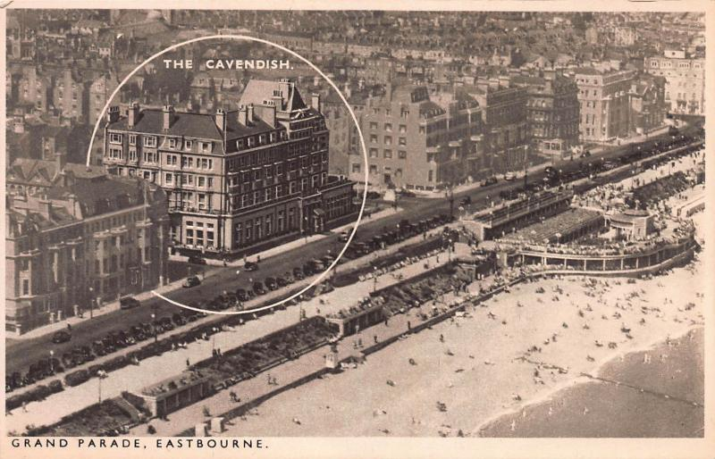 Grand Parade, Eastbourne, England, Great Britain, Early Postcard, Unused