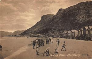 South Africa Bathing Boxes Muizenberg Esplanade Postcard