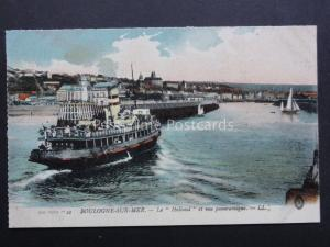 France: BOULOGNE SUR MER La 'Holland' Old Postcard by Levy LL.50