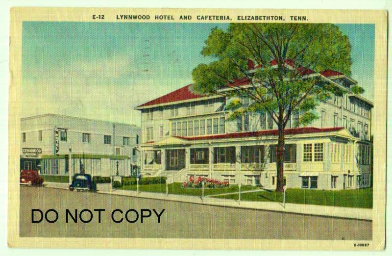Lynnwood Hotel Cafeteria Elizabethton Tn