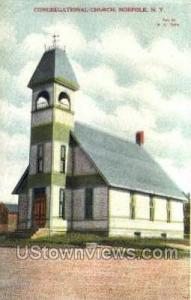 Congregational Church Norfolk NY Unused
