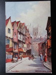 c1910 - York, Petergate Yard