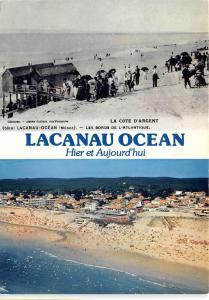 BR350 France Lacanau Ocean multi vues hier et aujourd'hui