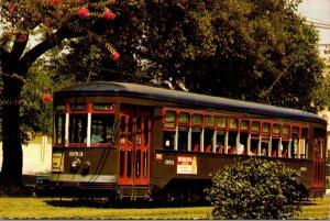 Louisiana New Orleans Streetcar Trolley #953