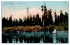 Early 1900s On the Willamette River, Oregon Postcard
