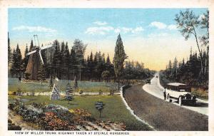 Duluth Minnesota~Steinle Nurseries~Touring Bus on Miller Trunk Highway~1916 PC