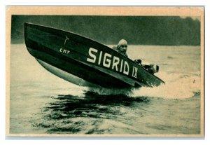 Motor Boat Racing, Sport II, Echte Wagner German Trade Card *VT31V