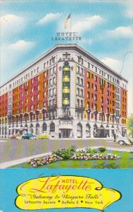Hotel Lafayette, Gateway to Niagara Falls, BUFFALO, New York, 40-60s
