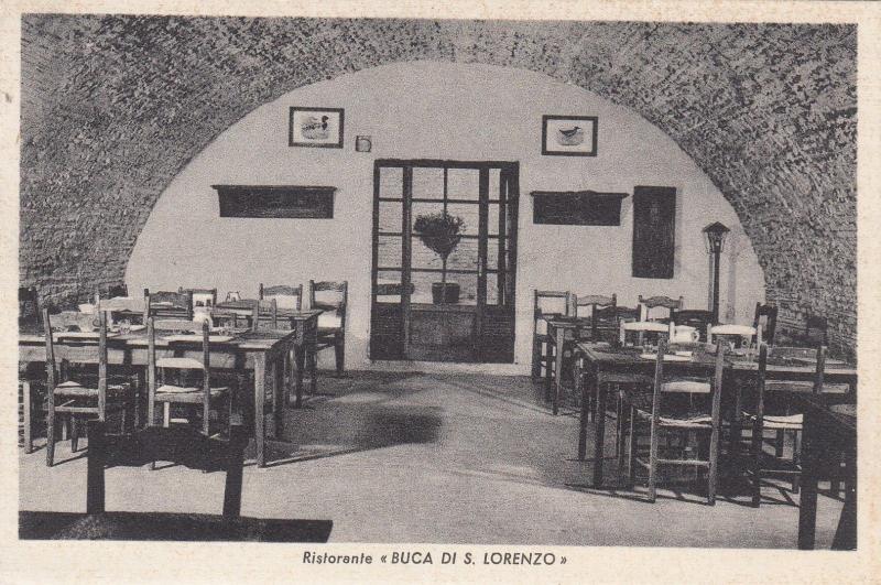 ITALY, 00-10s; Interior, Ristorante Buca Di S. Lorenzo