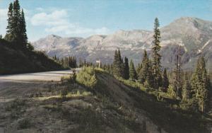 Murray Mountain, Hart Highway, DAWSON CREEK, British Columbia, Cananda, 40-60's