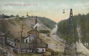 SYRACUSE , New York , 1900-10s; Split Rock Quarries