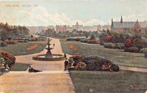 WIGAN LANCASHIRE UK~THE PARK~GROSVENOR SERIES  POSTCARD