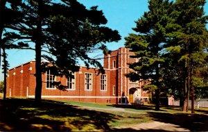 Maine Gorham Russell Hall Auditorium and Gymnasium Gorham State Teachers College